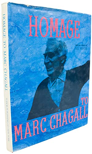 Homage to Marc Chagall Special Issue of Siecle XX-1969 Book