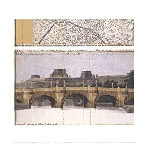 Javacheff Christo-Le Pont Neuf Wrapped II-Poster