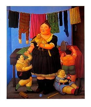 Fernando Botero-The Widow-1999 Poster: Botero, Fernando