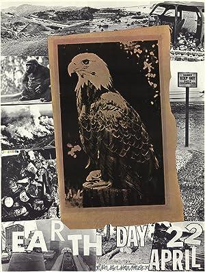 Robert Rauschenberg-Earth Day-1970 Offset Lithograph-SIGNED: Rauschenberg, Robert
