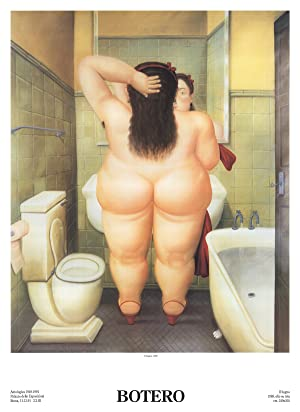 Fernando Botero-The Bath (Il Bano)-Poster: Botero, Fernando
