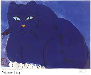 Walasse Ting-Blue Cat-Poster: Ting, Walasse