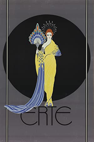 -1982 Poster Proscenium Erte-Symphony in White