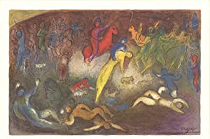 Marc Chagall-Enlevement de Chloe (Abduction of Chloe)-1977: Chagall, Marc