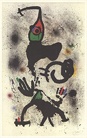 Joan Miro-Untitled (vertical)-1979 Poster