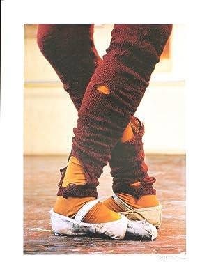 Harvey Edwards-Leg Warmers-1984 Offset Lithograph-SIGNED: Edwards, Harvey