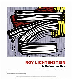Roy Lichtenstein-Little Big Painting-2012 Poster