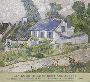 Vincent van Gogh-Houses At Auvers-1999 Poster
