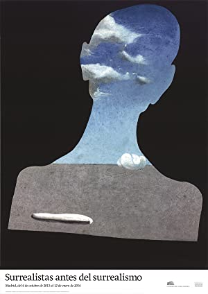 Salvador Dali-Man with a Head Full of Clouds-2013 Poster