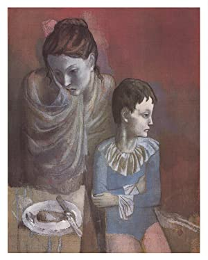 Pablo Picasso-Mother and Child-1986 Poster
