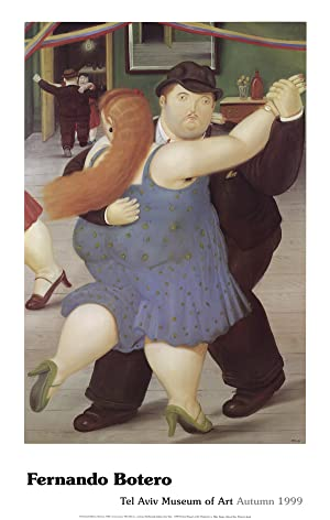 Fernando Botero-Dancers-1999 Poster: Botero, Fernando