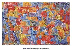 Jasper Johns-Map (sm)-2009 Poster: Johns, Jasper