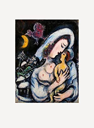 Marc Chagall-Motherhood-1986 Poster: Chagall, Marc