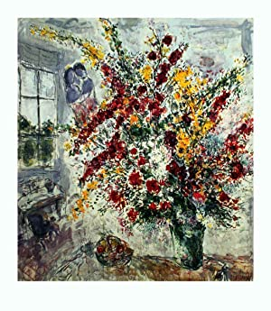 Marc Chagall-Window Bouquet-1993 Poster: Chagall, Marc