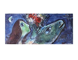 Marc Chagall-Woman with Green Donkey-Poster: Chagall, Marc