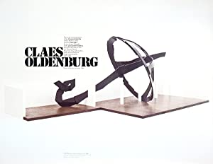 Claes Oldenburg-Umbrella-Poster