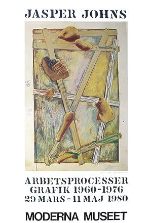 Jasper Johns-Works in Progress-1980 Poster: Johns, Jasper