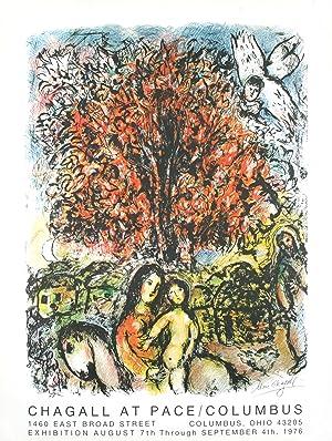 Marc Chagall-Sainte Famille-1976 Lithograph: Chagall, Marc