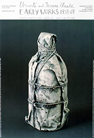 Javacheff Christo-Wrapped Bottle (1958)-Poster
