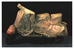 Javacheff Christo-Wrapped Vespa-2004 Poster