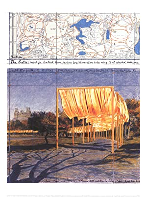 Javacheff Christo-The Gates III-2005 Poster