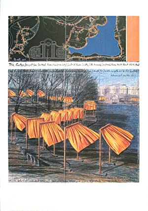 Javacheff Christo-Project for the Gates VIII-2003 Poster