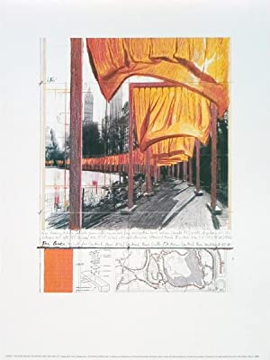 Javacheff Christo-The Gates XXII-Poster