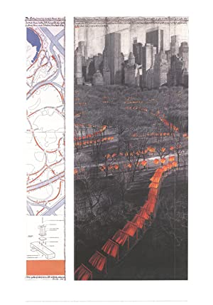 Javacheff Christo-The Gates XXIX-2005 Poster