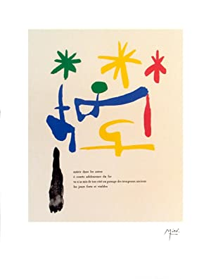 Joan Miro-Illustrated Poems-