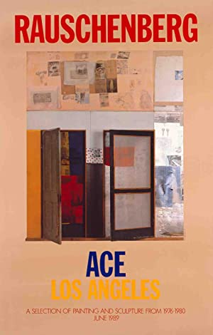 Robert Rauschenberg-A Selection of Painting and Sculpture-1989 Poster