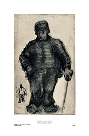 Vincent van Gogh-Peasant Walking-Poster