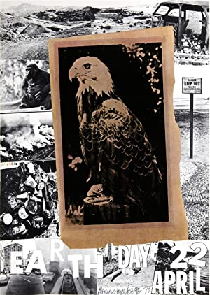 Robert Rauschenberg-Earth Day, American Eagle-1970 Offset Lithograph-SIGNED: Rauschenberg, Robert