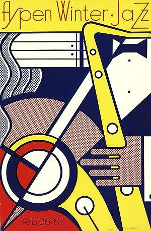 Roy Lichtenstein-Aspen Winter Jazz-1967 Serigraph-SIGNED: Lichtenstein, Roy