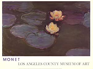Claude Monet-Waterlilies-1981 Poster