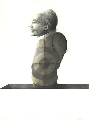 Joseph Piccillo-Study February (1974)-1974 Drawing-SIGNED: Piccillo, Joseph