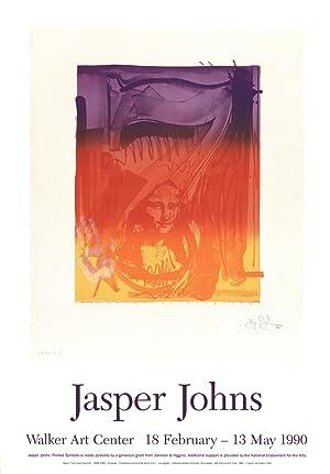 Jasper Johns-Number 7-1990 Poster: Johns, Jasper