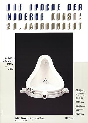 Marcel Duchamp-Fountain-1997 Poster: Duchamp, Marcel