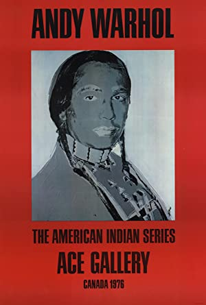 Andy Warhol-American Indian (Red)-1977 Poster