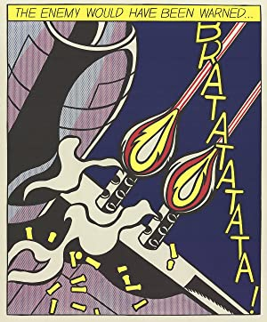 Roy Lichtenstein-The Enemy Would Have Been Warned (Panel 2)-Poster