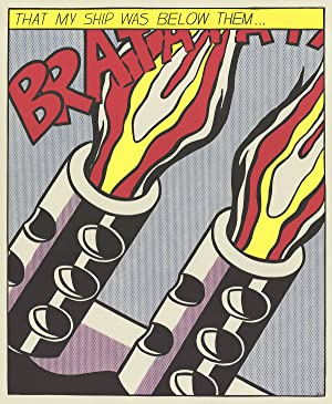 Roy Lichtenstein-That My Ship Was Below Them (Panel 3)-Poster