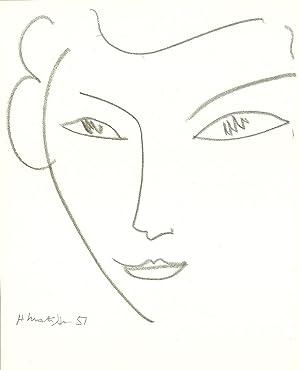 Henri Matisse-Portrait of a Woman-Poster: Matisse, Henri