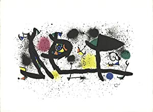 Joan Miro-Sculptures-1980 Lithograph