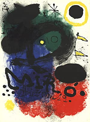 Joan Miro-Album 19-1961 Lithograph