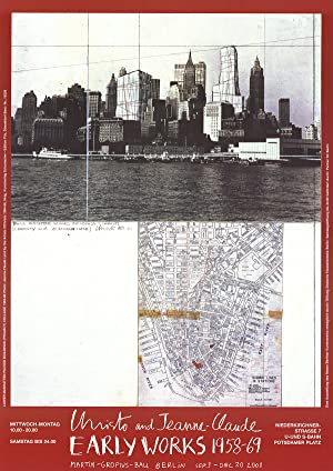 Javacheff Christo-Lower Manhattan (1964)-Poster