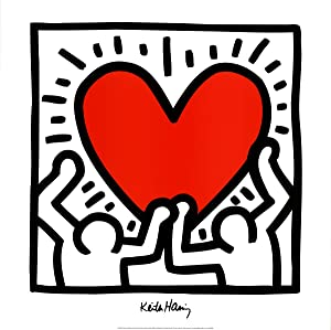 Keith Haring-Unitled (1988)-Poster: Haring, Keith