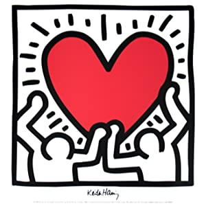 Keith Haring-Untitled (1988)-Poster: Haring, Keith