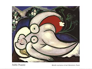 Pablo Picasso-Woman Lying Down-1994 Poster
