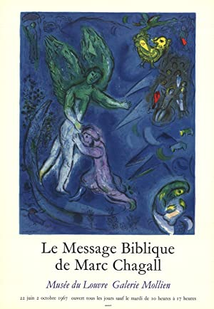 Marc Chagall-The Struggle Of Jacob And The: Chagall, Marc