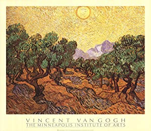 Vincent van Gogh-The Olive Trees-1987 Poster