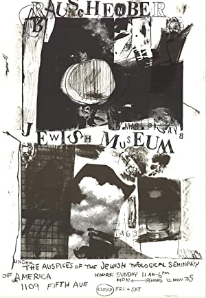Robert Rauschenberg-At the Jewish Museum-1963 Lithograph